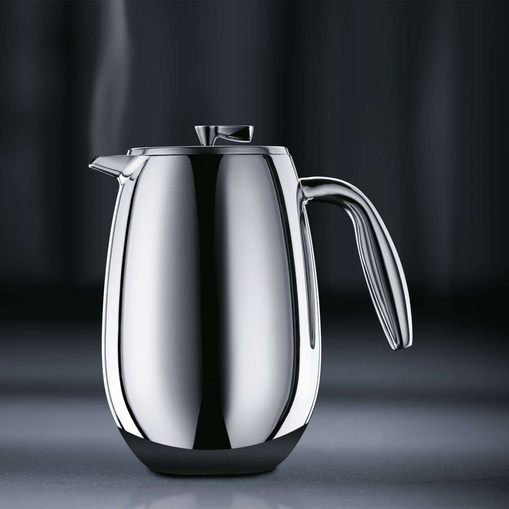 Bodum Columbia Stainless Steel French Press Coffee Maker, Durable