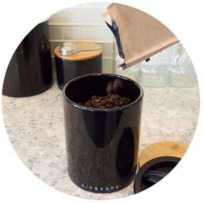 Airscape Ceramic Coffee Storage
