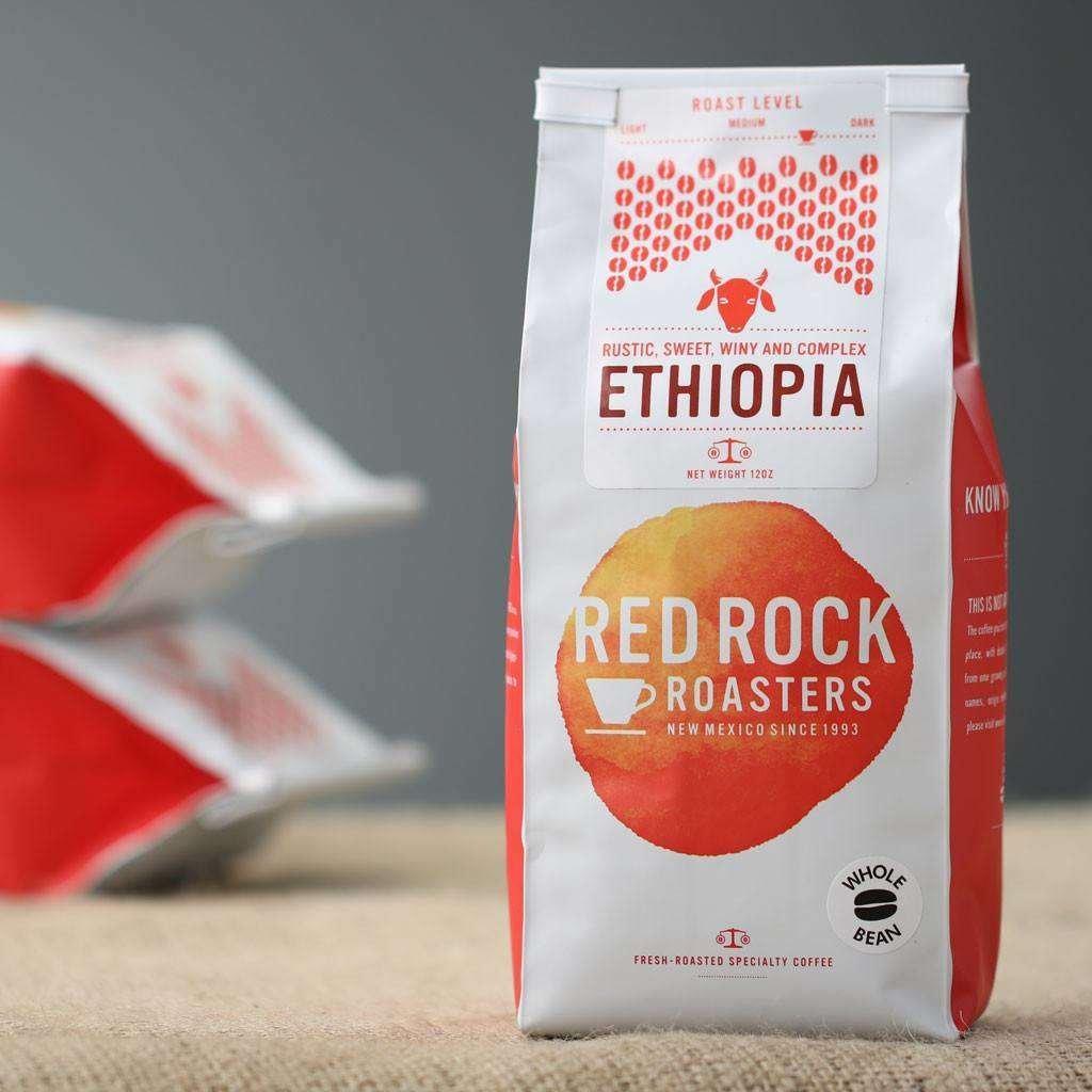 Red Rock Roasters Ethiopia Whole Bean Coffee