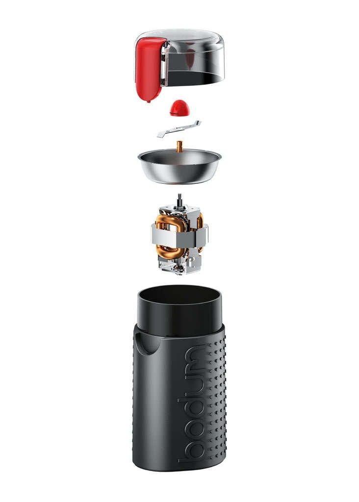 Bodum BISTRO Coffee Grinder, Electric Blade Coffee Grinder, Parts