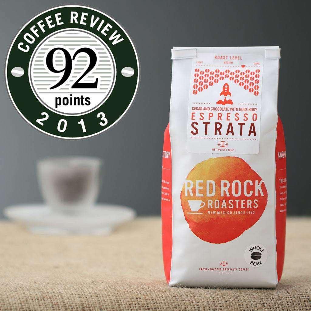 Red Rock Roasters Espresso Strata Whole Bean Coffee