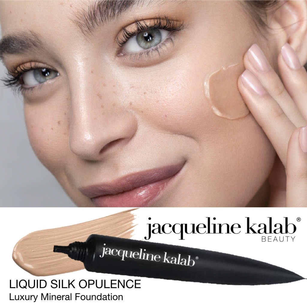 Liquid Silk Opulence - Luxury Mineral Foundation by Jacqueline Kalab