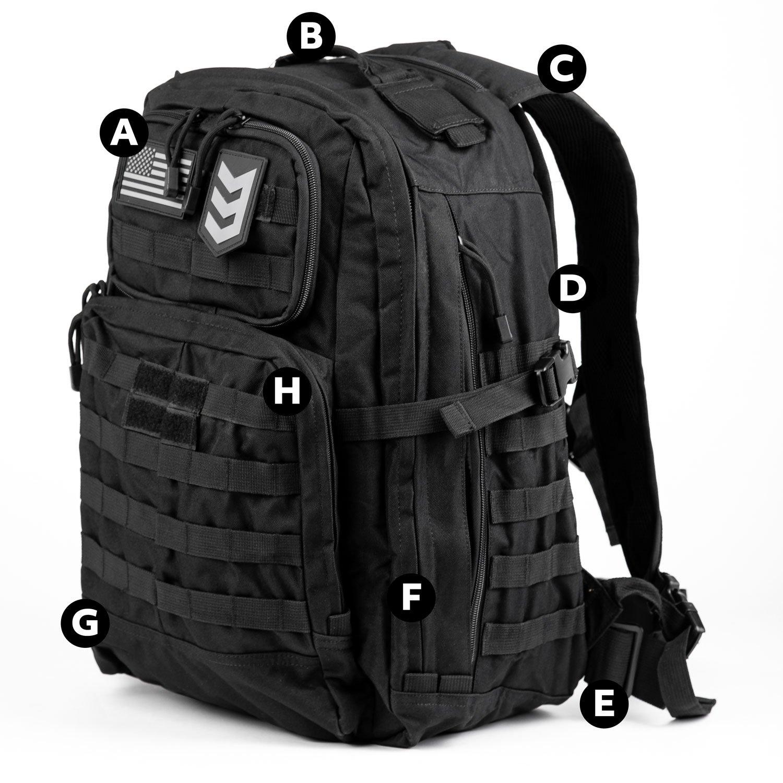 3V Gear Precision Tactical 35L Backpack