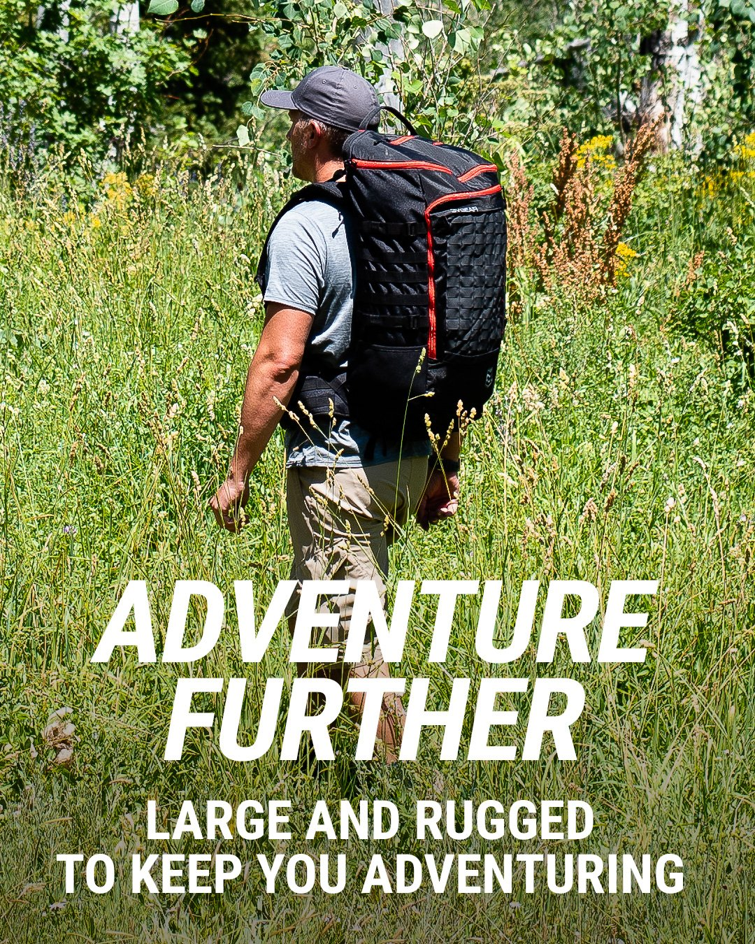 3v gear sovereign redline internal frame backpack