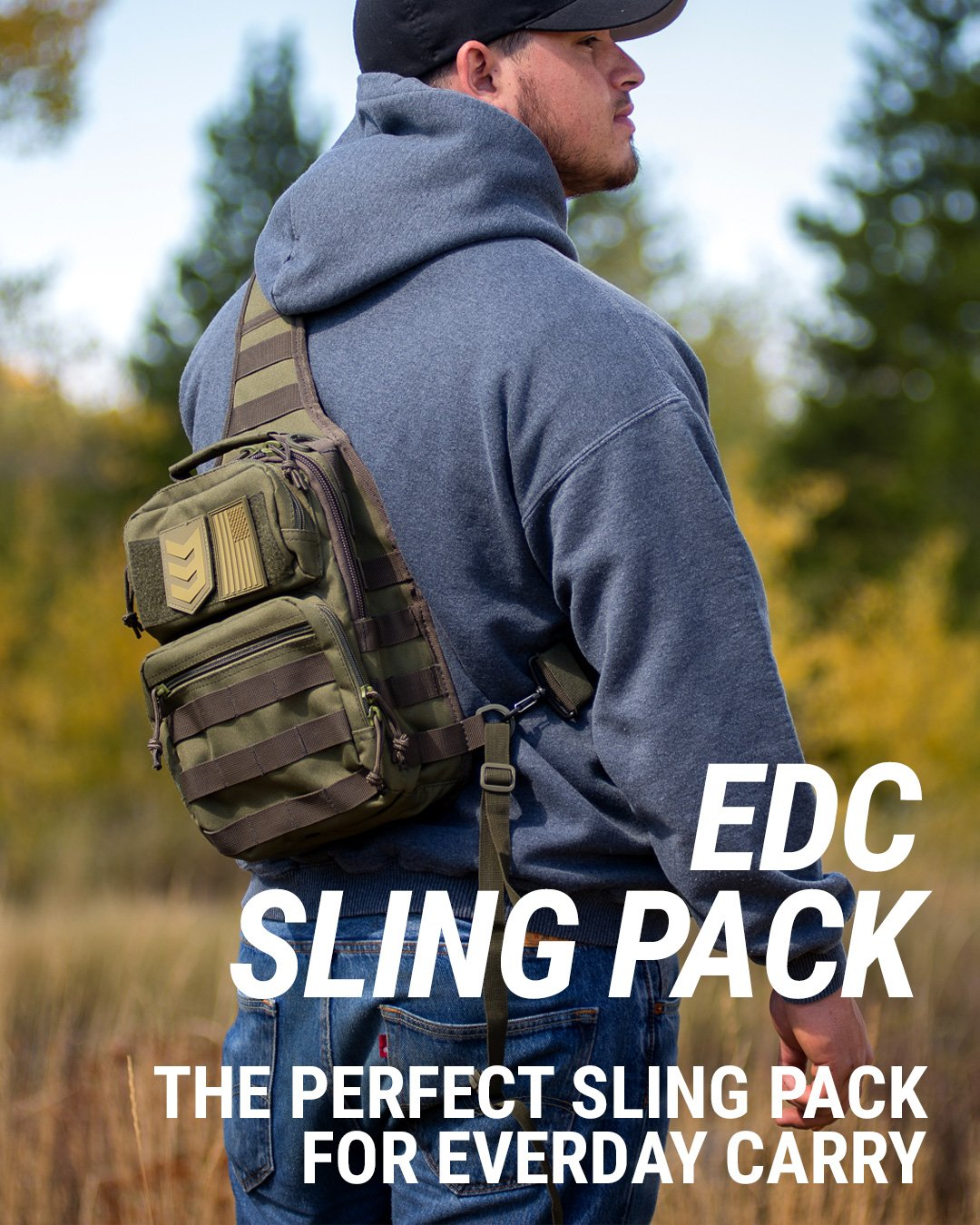 3v gear posse edc sling pack for everyday carry
