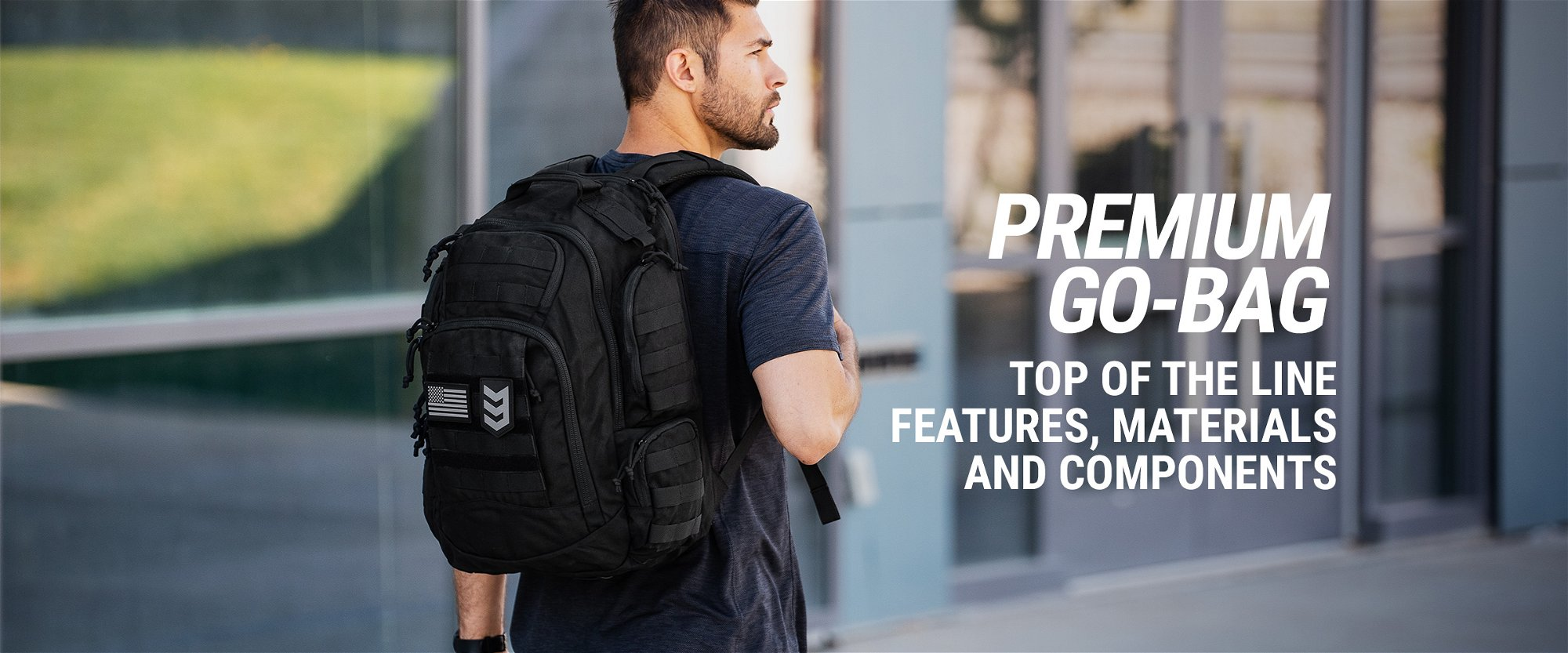 "Guardian ""Qui Vive"" Premium Tactical Backpack"
