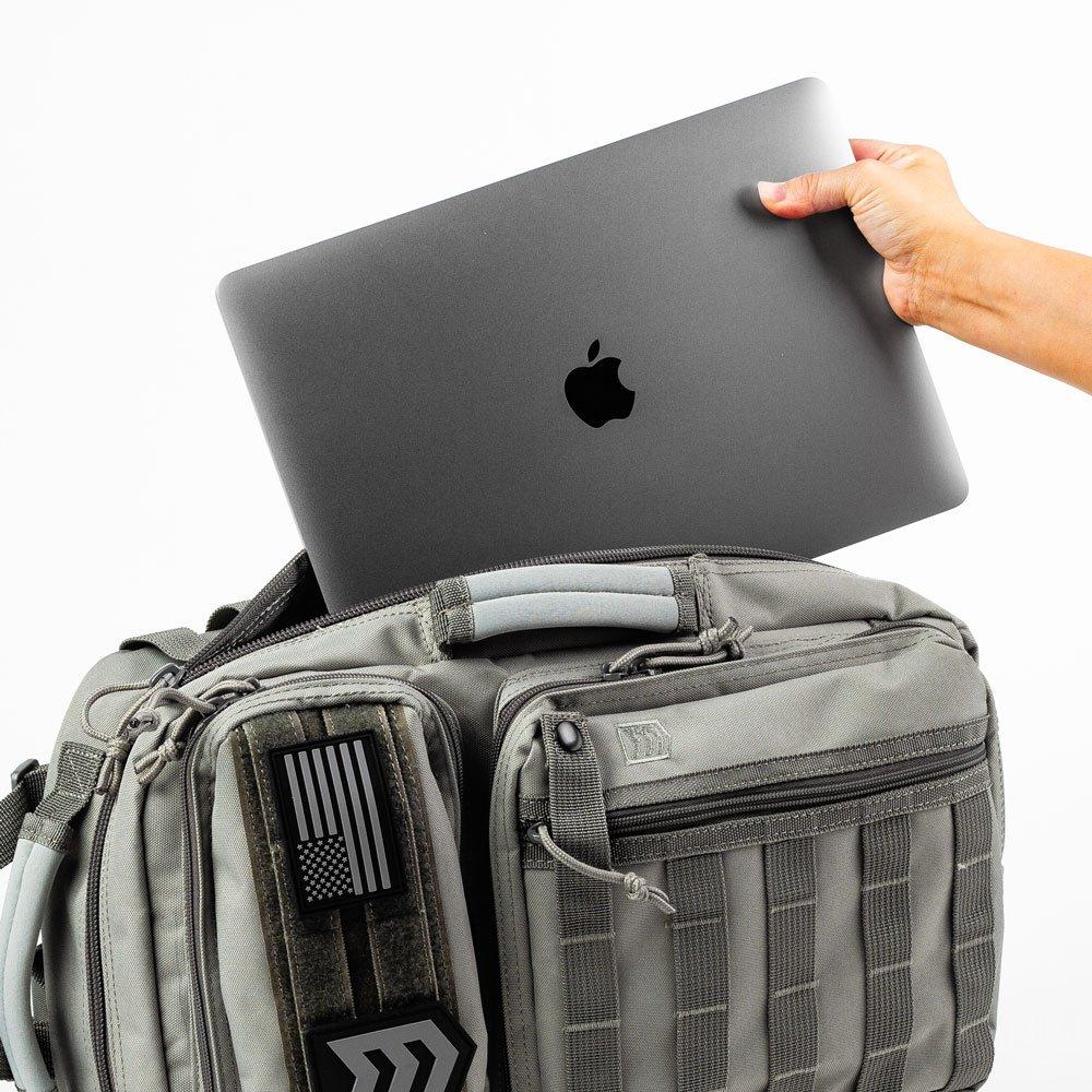 3v gear outlaw edc sling pack laptop sleeve