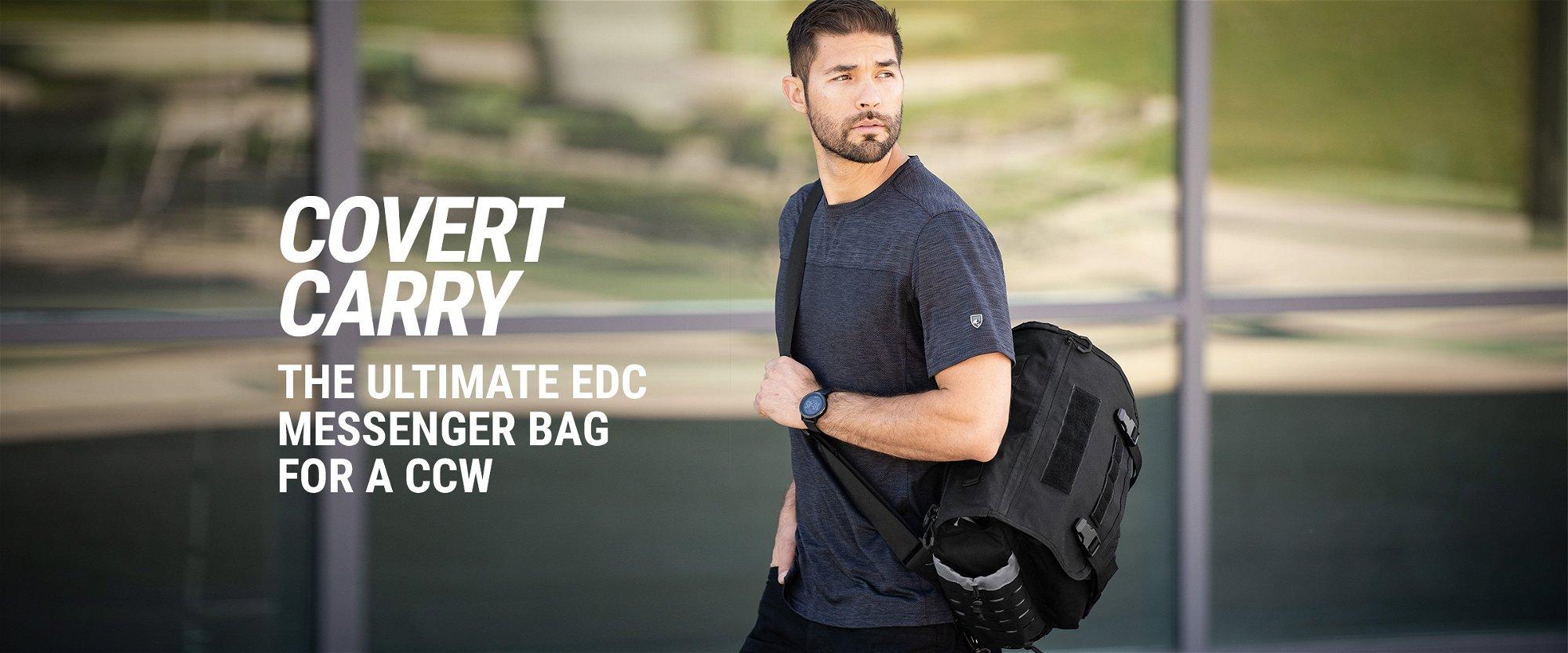 N.T.K. Covert Messenger Bag