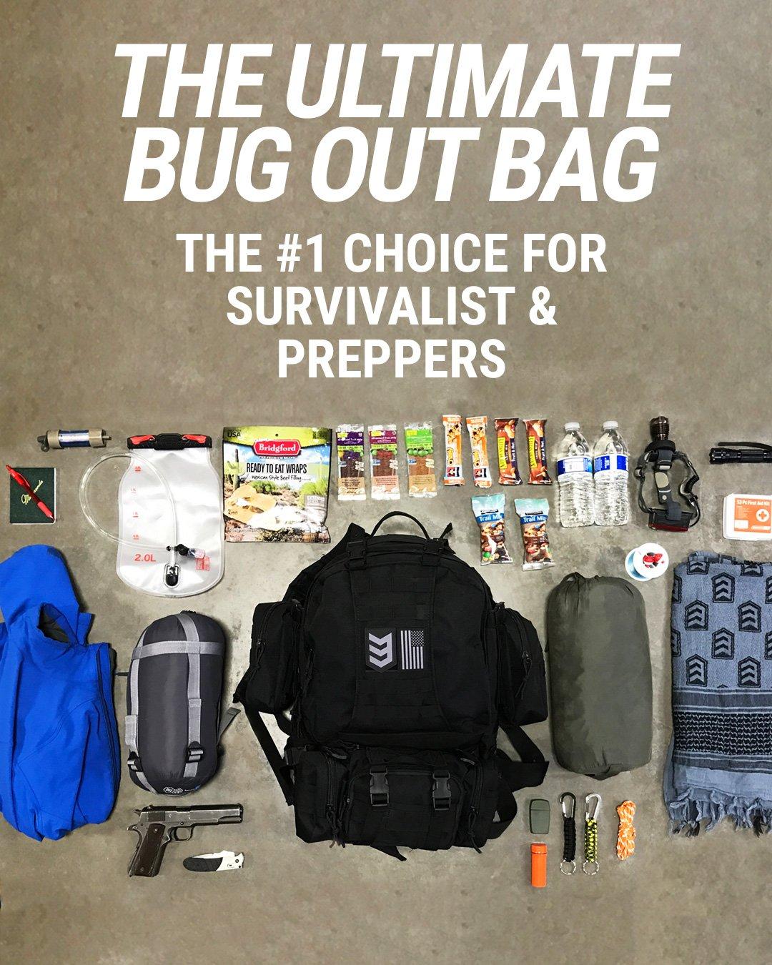 3V Gear Paratus 3-Day Bug Out Bag