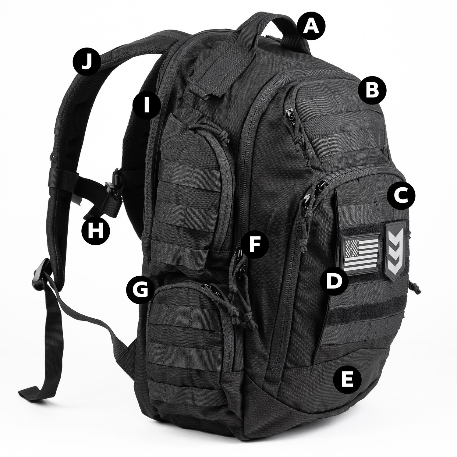 3V Gear Shield Anti-Theft Backpack