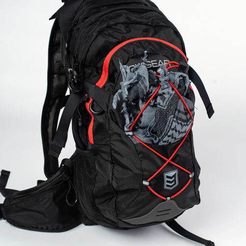 3V Gear Surge Redline Hydration Backpack Bungee