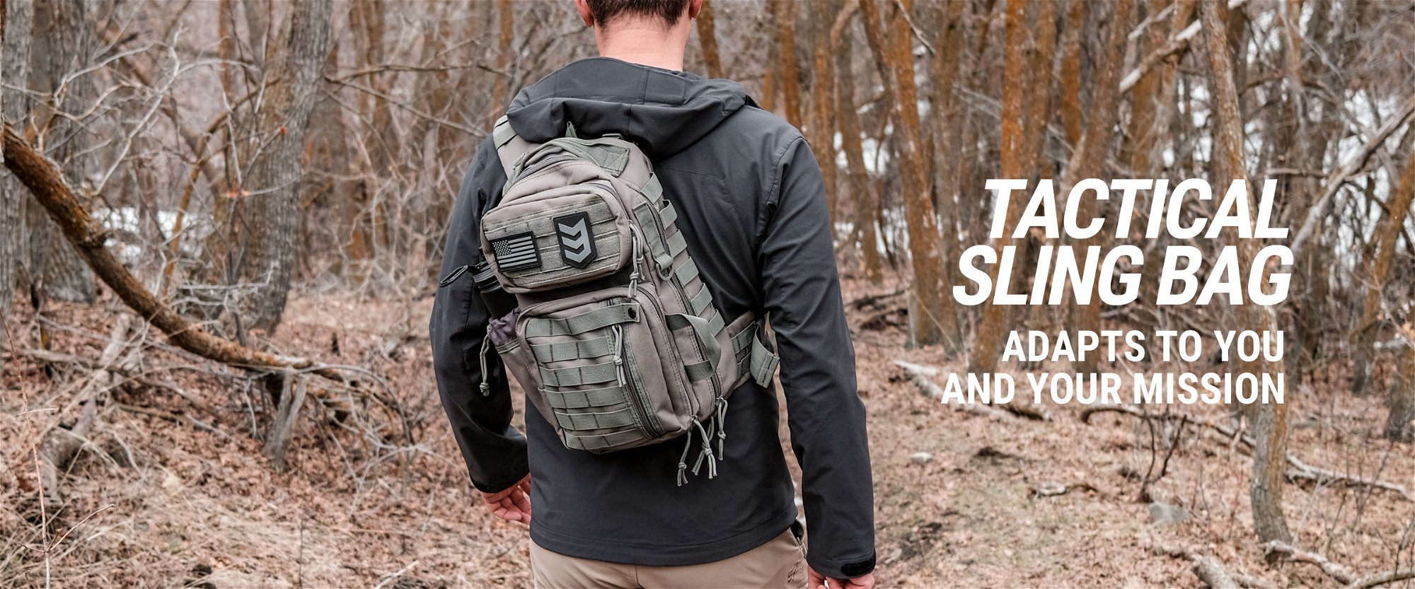 3v gear outlaw tactical edc sling pack