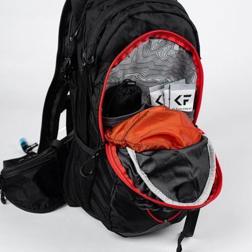 3V Gear Surge Redline Hydration Backpack Storage