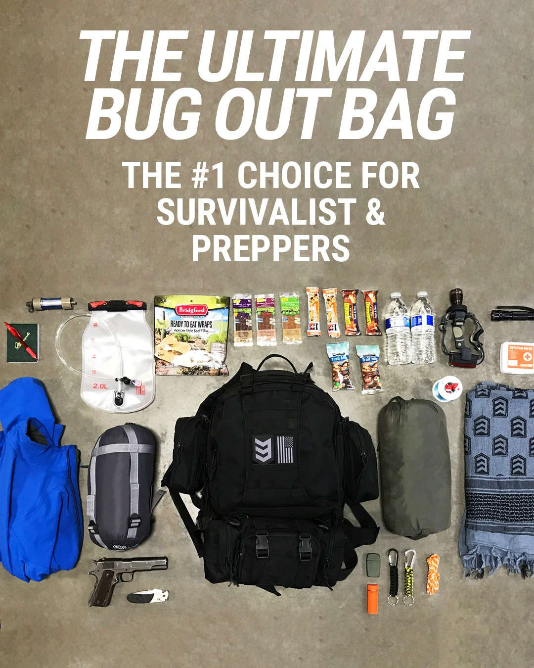 3V Gear Paratus 3-Day Bug Out Bag