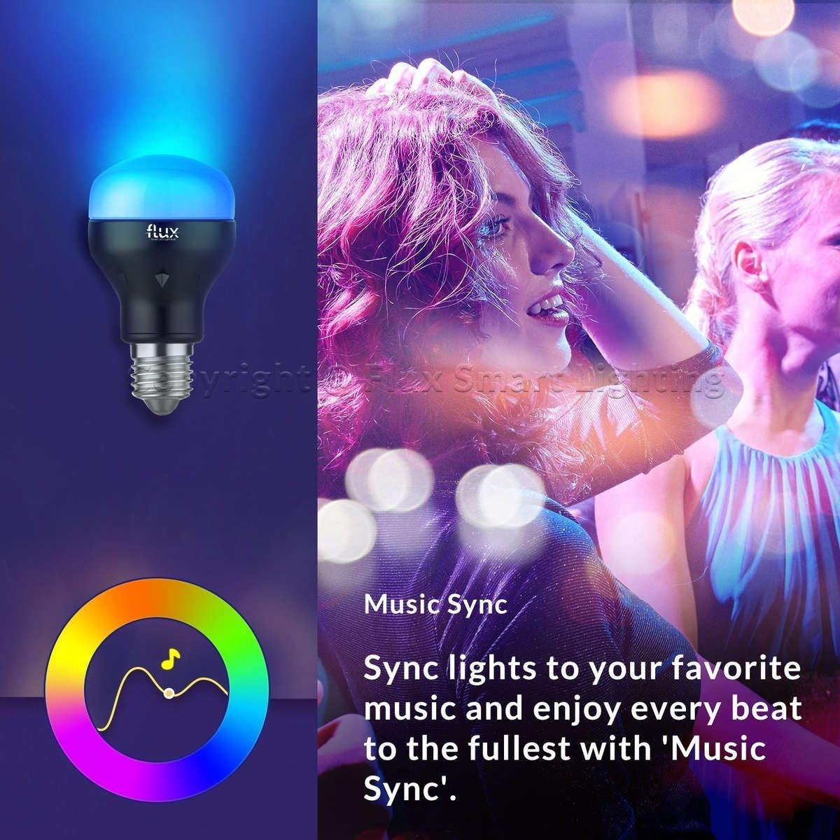 Flux WiFi Smart LED Light Bulb, 2nd Generation