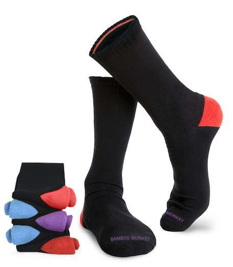 Great value 10 pack of bamboo monkey classic socks.