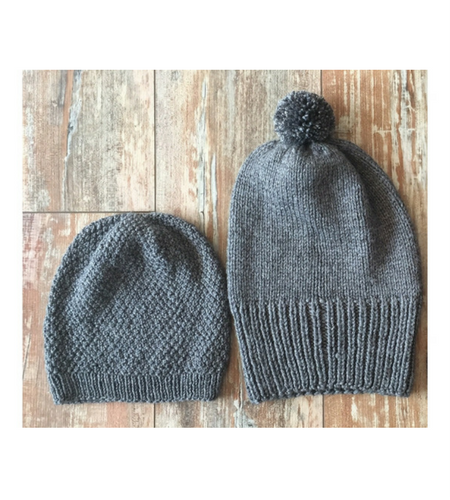 Bamboo Monkey Fair Trade beanies for men and women.