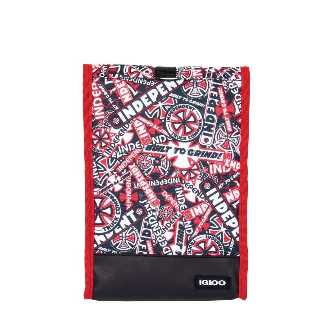 INDEPENDENT LIMITED EDITION ZINE ROLLTOP LUNCH BAG