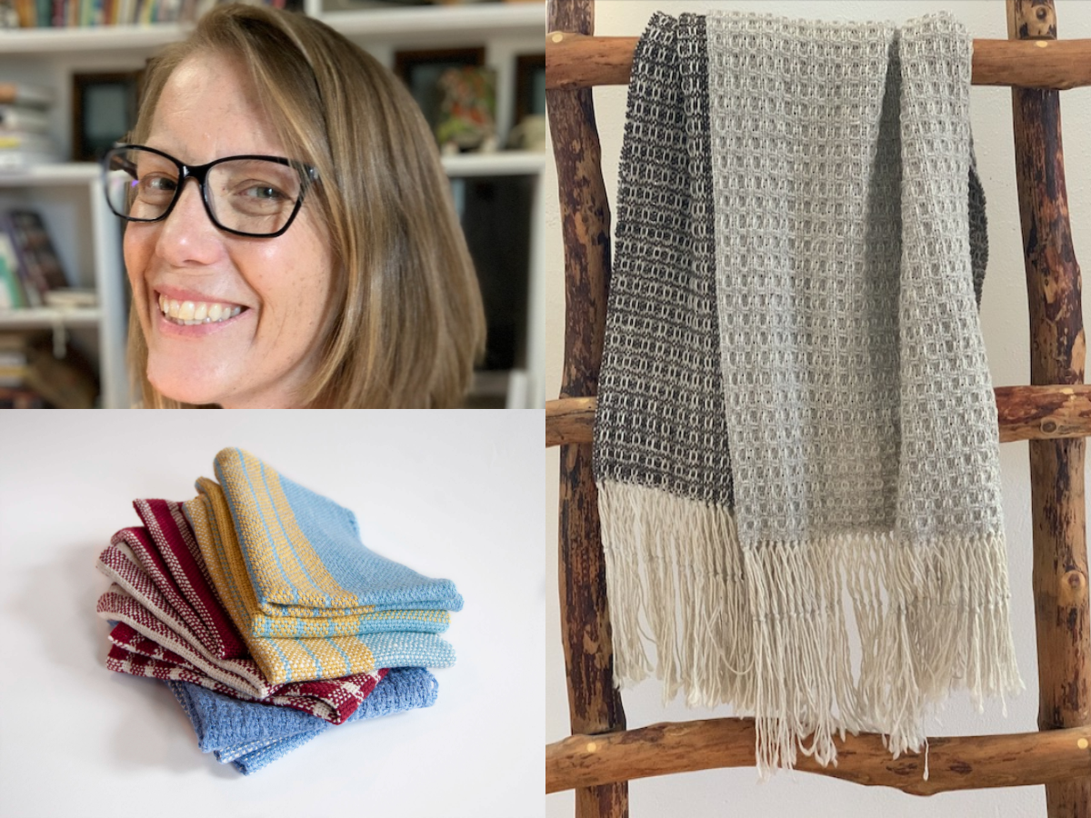 Episode 73: A Rigid Heddle Weaving Collaboration With Liz Gipson