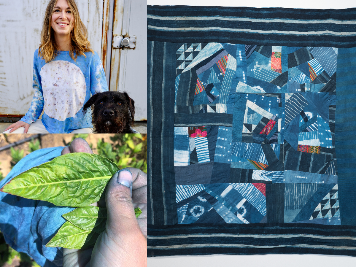 Episode 96: Quilting and Natural Dye Cultivating in Oakland with Kristin Arzt of Scrambles Quilts