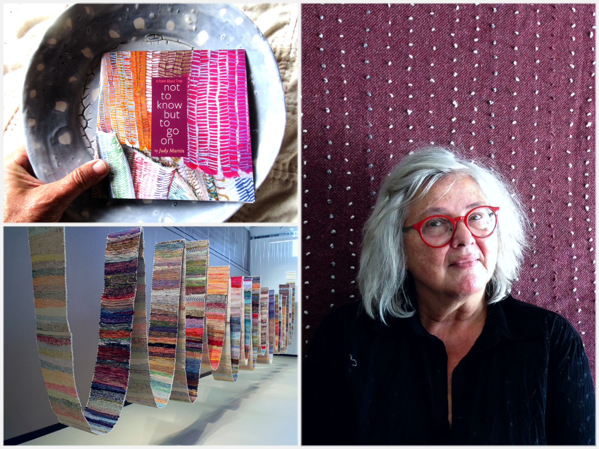Episode 108: The Aesthetic Simplicity of Hand Stitching of with Judy Martin