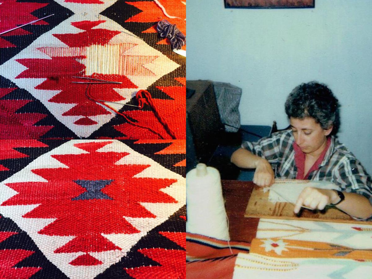 Episode 98: Navajo Rug Weaving Restoration with Penelope Starr in Tucson Arizona