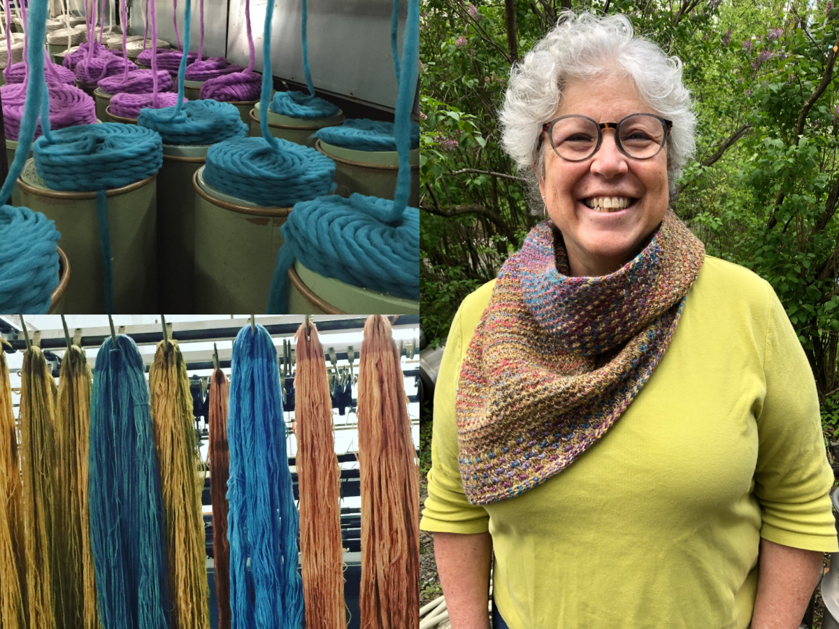 Episode 93: Commercial Scale Local Wool Carding and Spinning with Mary Jeanne Packer of Battenkill Fibers