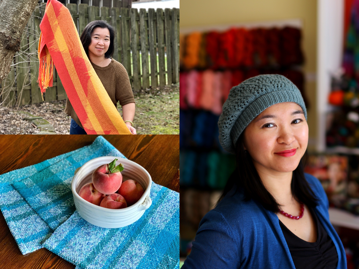 Episode 100: Designing Weaving and Knitting Patterns with Angela Tong