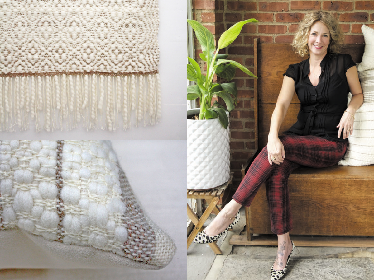 Episode 106: Locally Sourced Hand Weaving with Stephanie Pinerio of Shed Textile Company