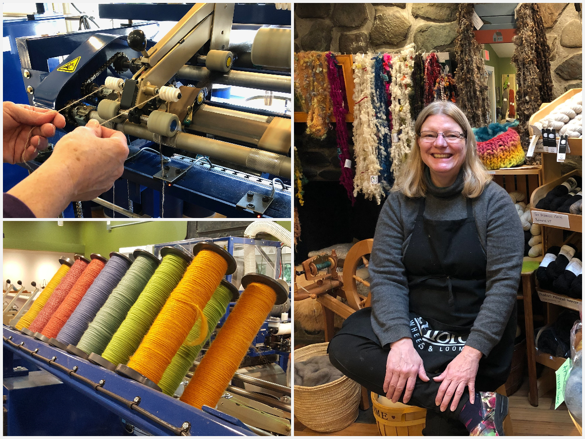 Episode 114: An Artisan Fiber Mill in Vermont with Susan Snider of Mad River Fiber Mill