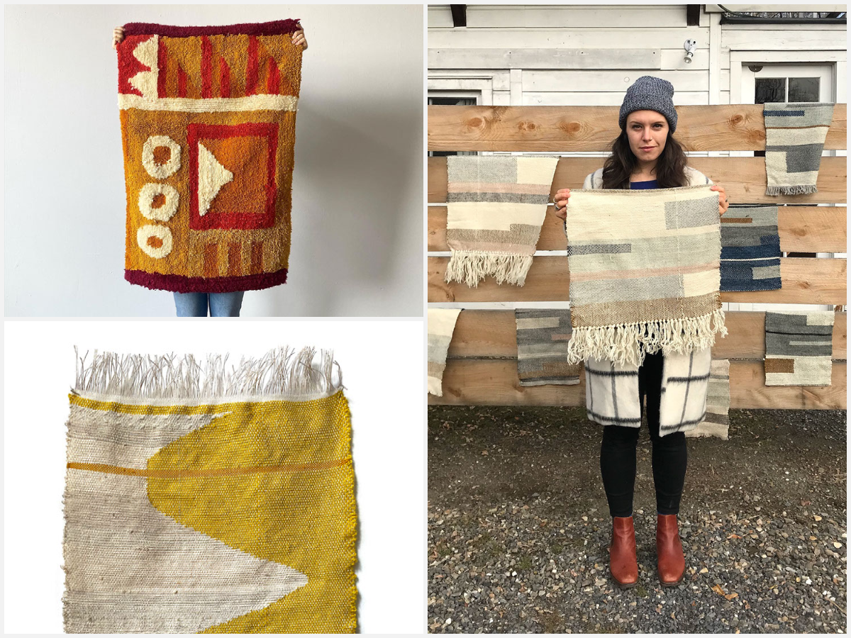 Episode 125: Weaving and Tufting with Jessie Mordine Young