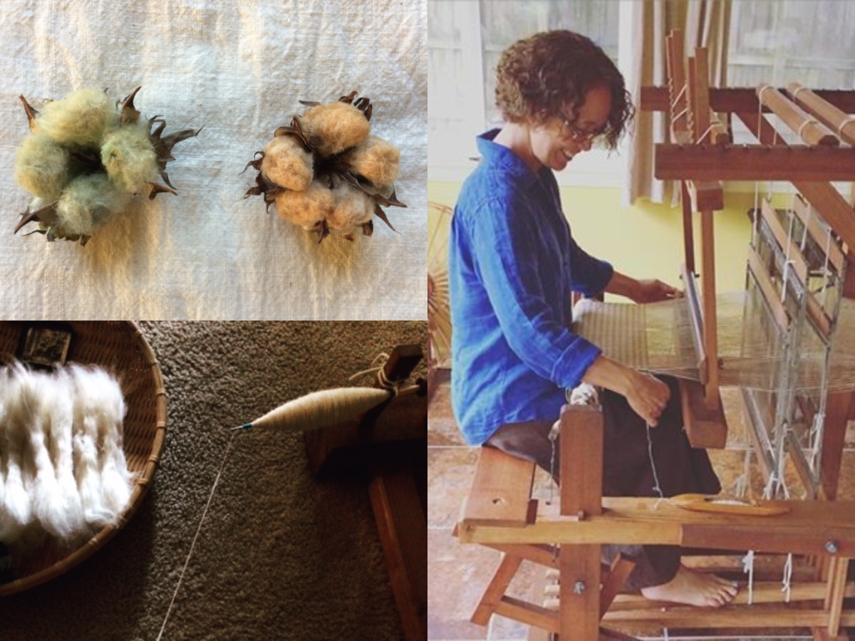 Episode 86: Handspun Homegrown Naturally Colored Cotton with Yuka Bullard