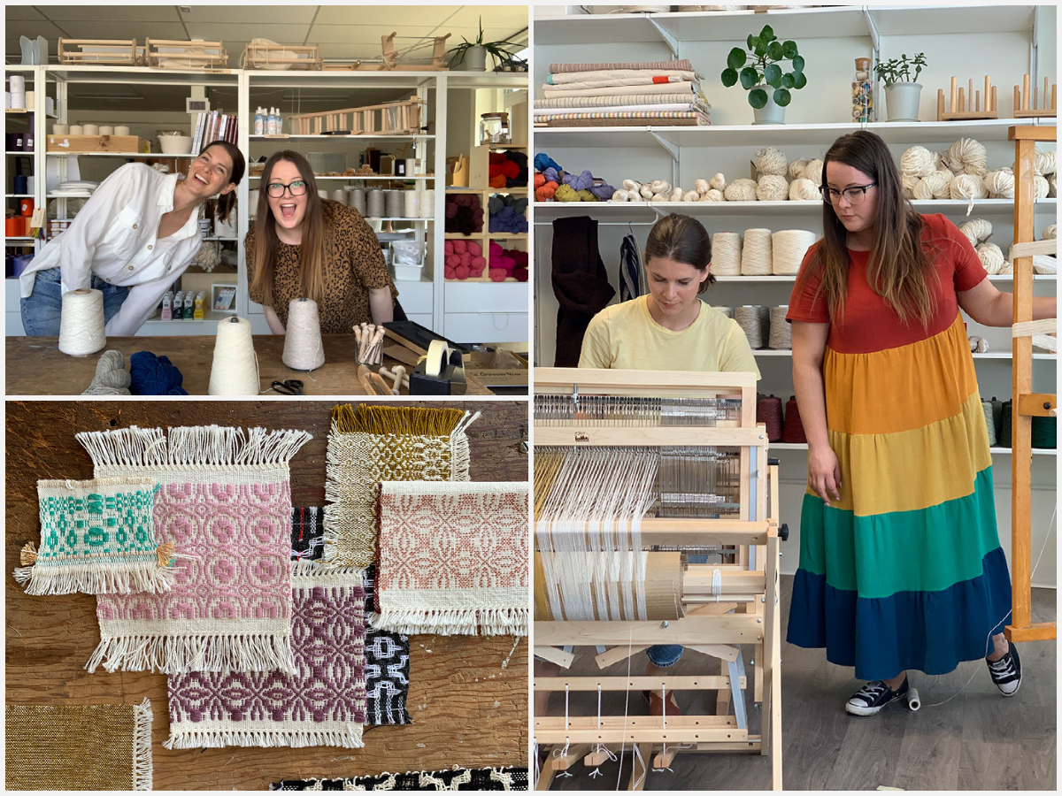 Episode 123: Cultivating a Contemporary Weaving Community with Gather Textiles