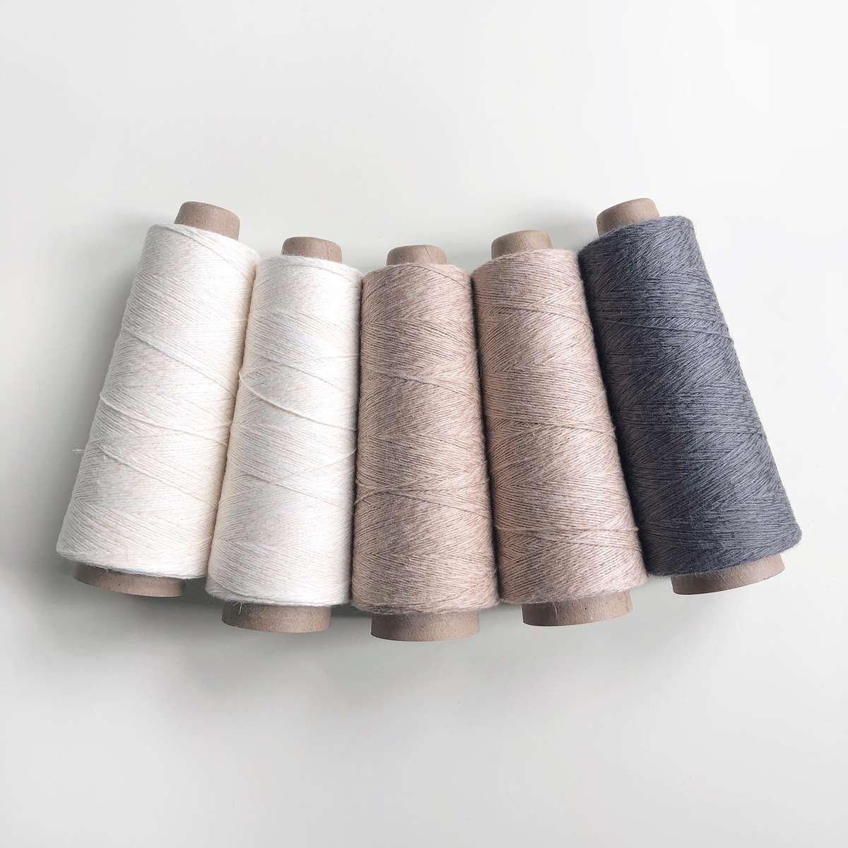 yarn for rigid heddle weaving