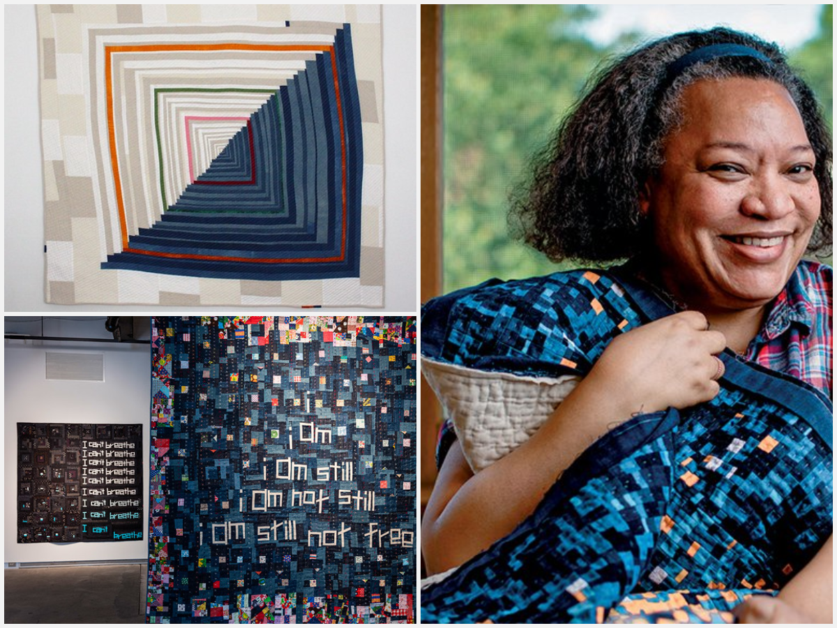 Episode 126: Poetic Political Quilt Making with Mathematician Chawne Kimber