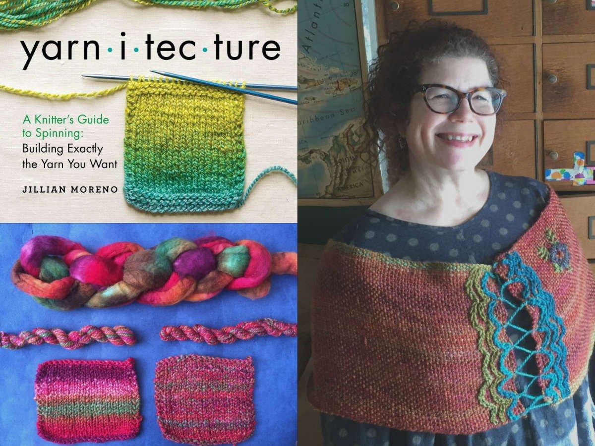 Jillian Moreno Spinning for Weaving Weave Podcast