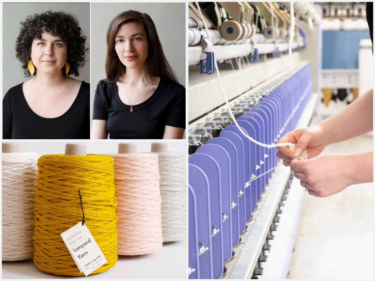 Episode 115: A Design House Based in Weaverville, NC with Grace and Amalia of Echoview Fiber Mill