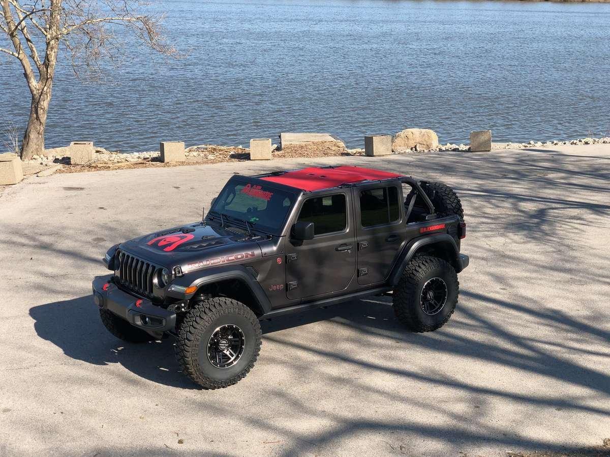 Jeep Wrangler Jl Sunshade Pre Launch Alien Sunshade For