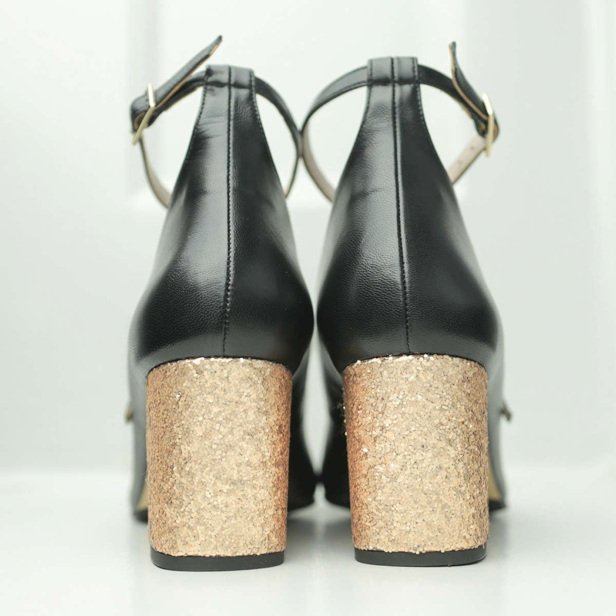 ella-gold-glitter-block-heel-black-leather-christmas-party-pump
