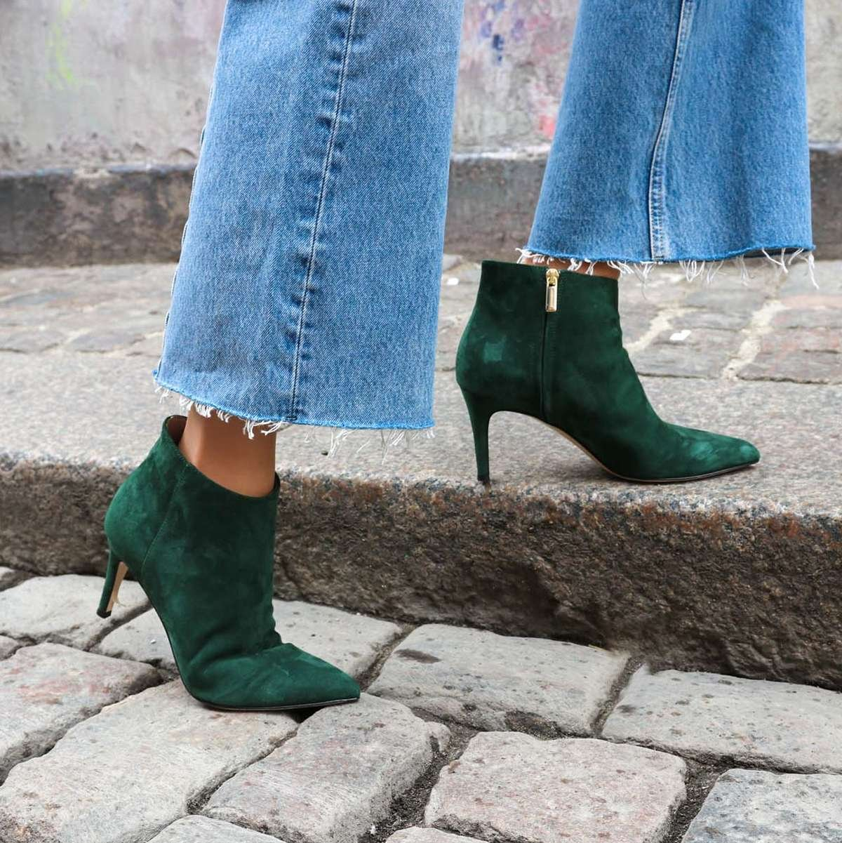 gift-for-christmas-charlie-green-suede-boot-roccamore