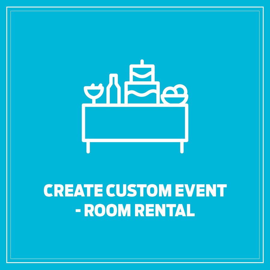 Room Rental Logo Page