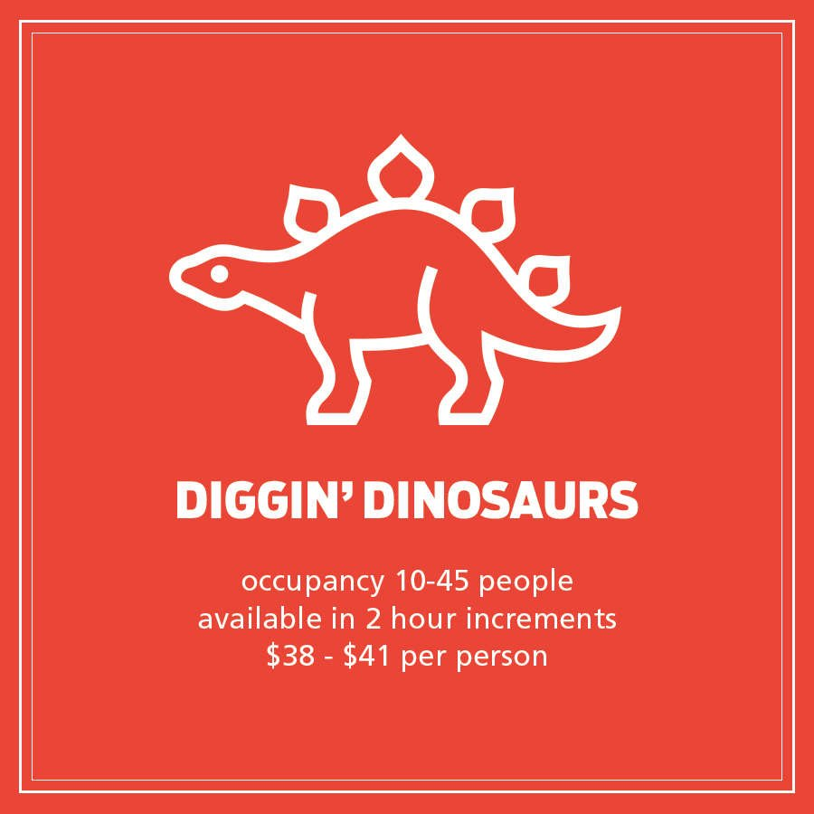 Diggin Dinosaur Logo