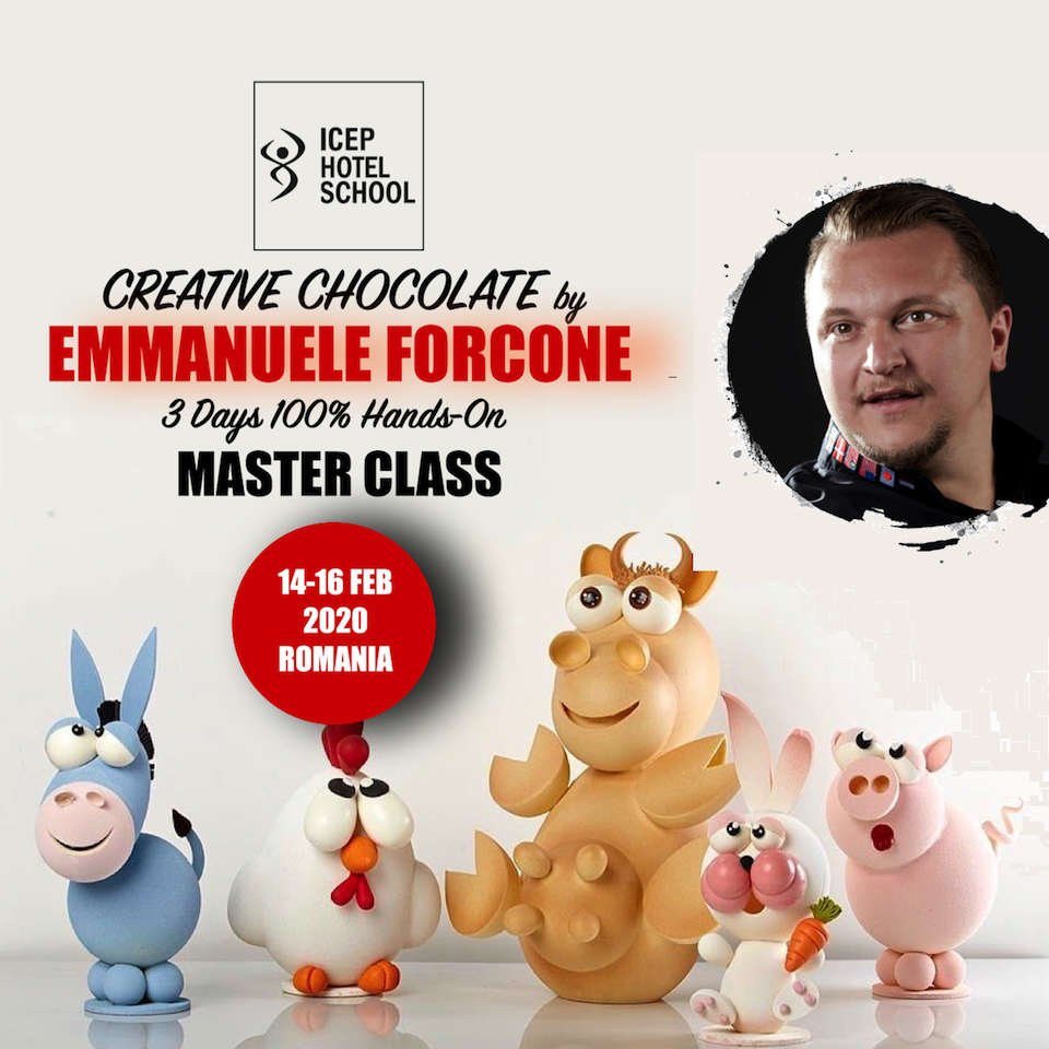 MasterClass Emmanuele Forcone - Creative Chocolate