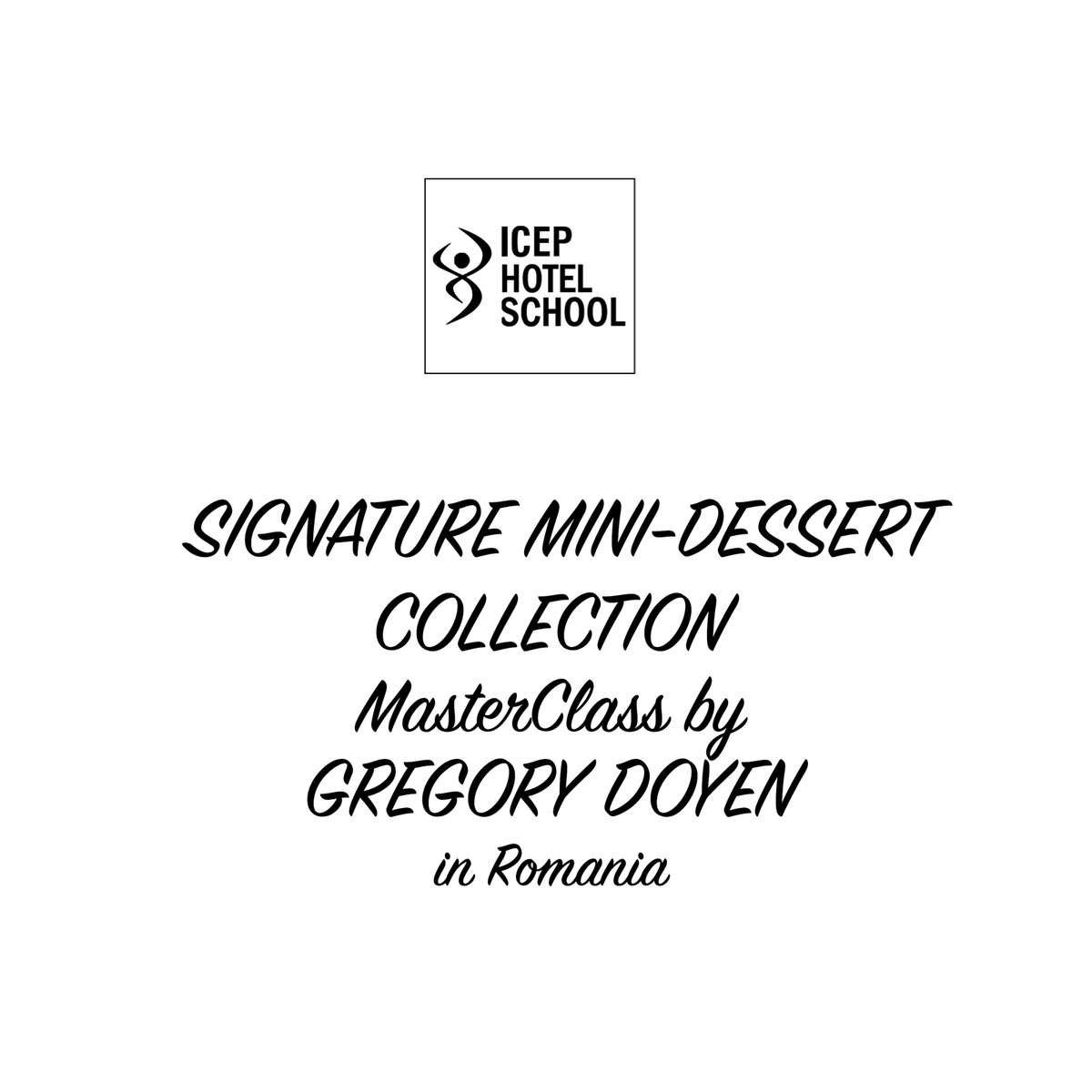MasterClass Gregory Doyen Dessert Bar Candy Bar