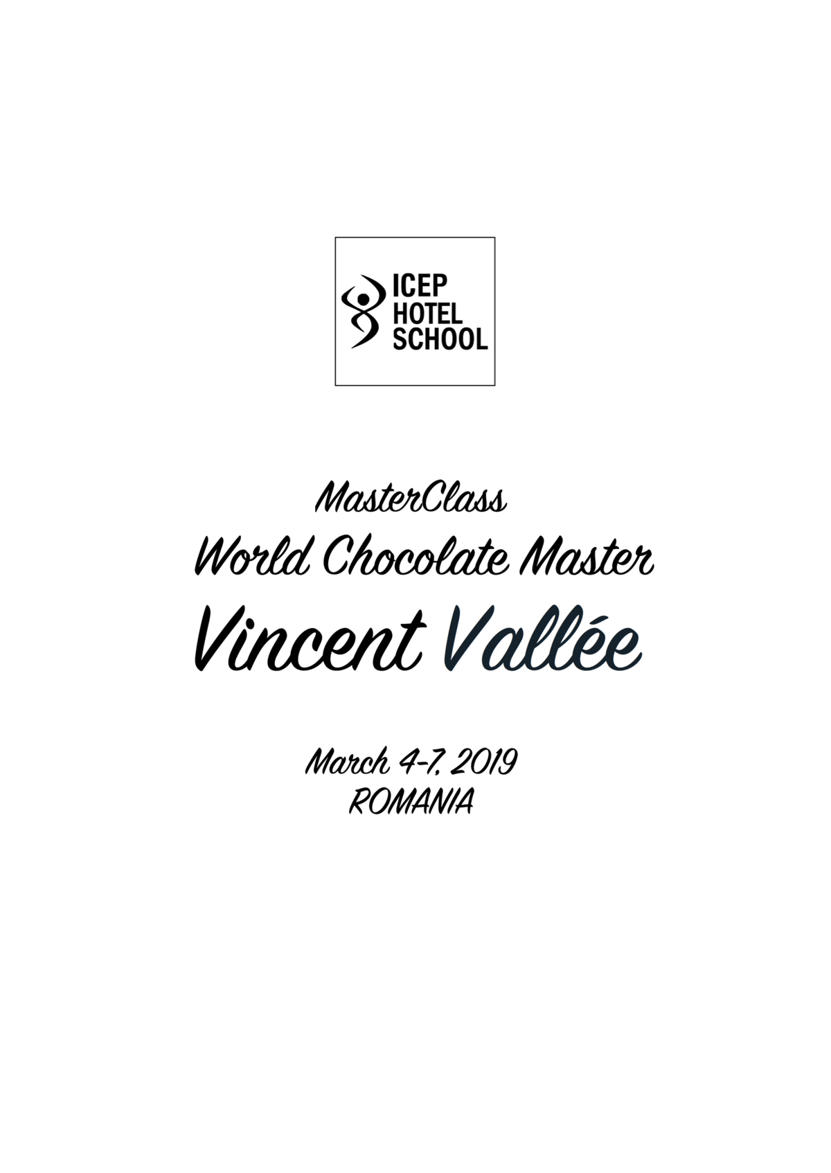 MasterClass Vincent Vallee