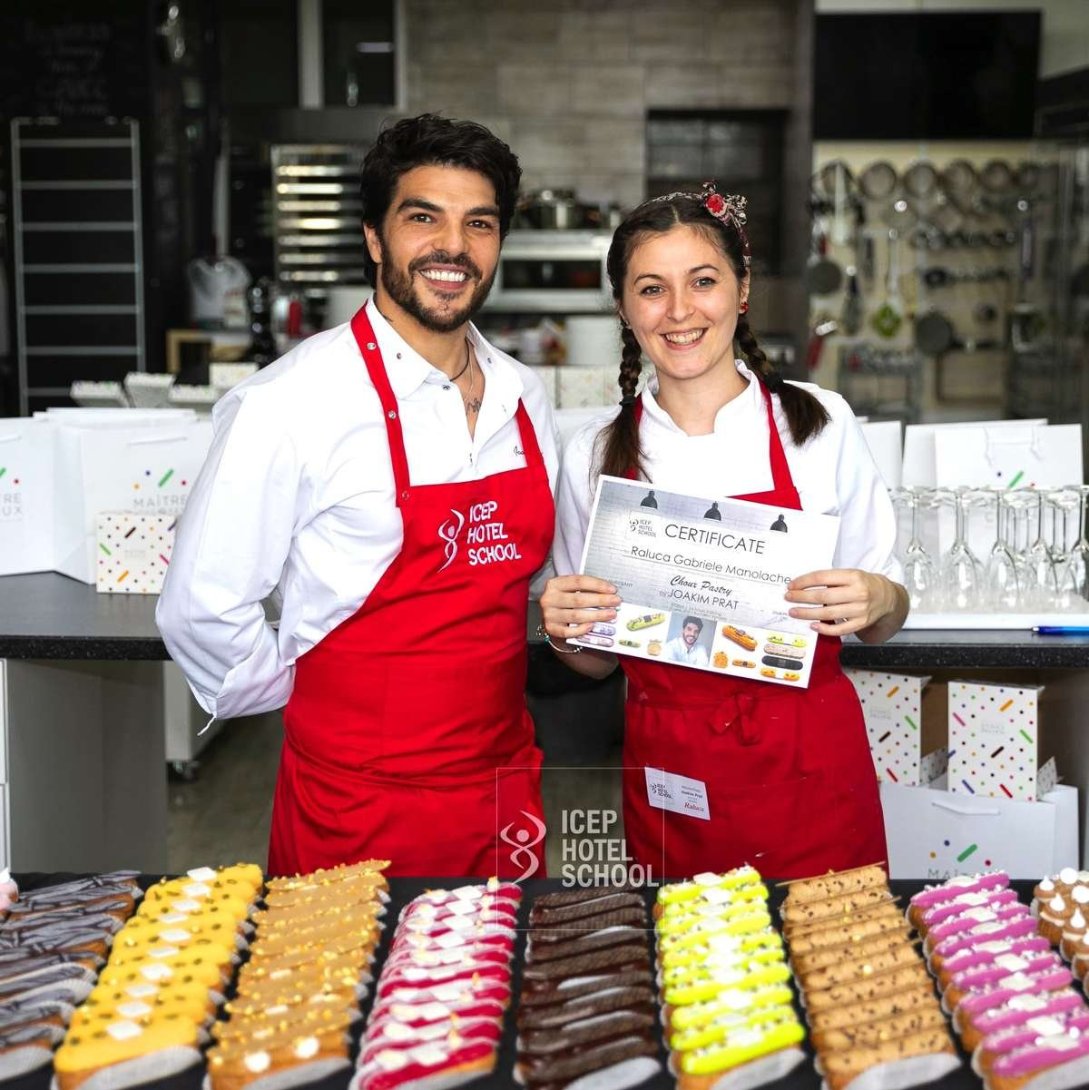 MasterClass Joakim Prat Eclair & Choux Pastry
