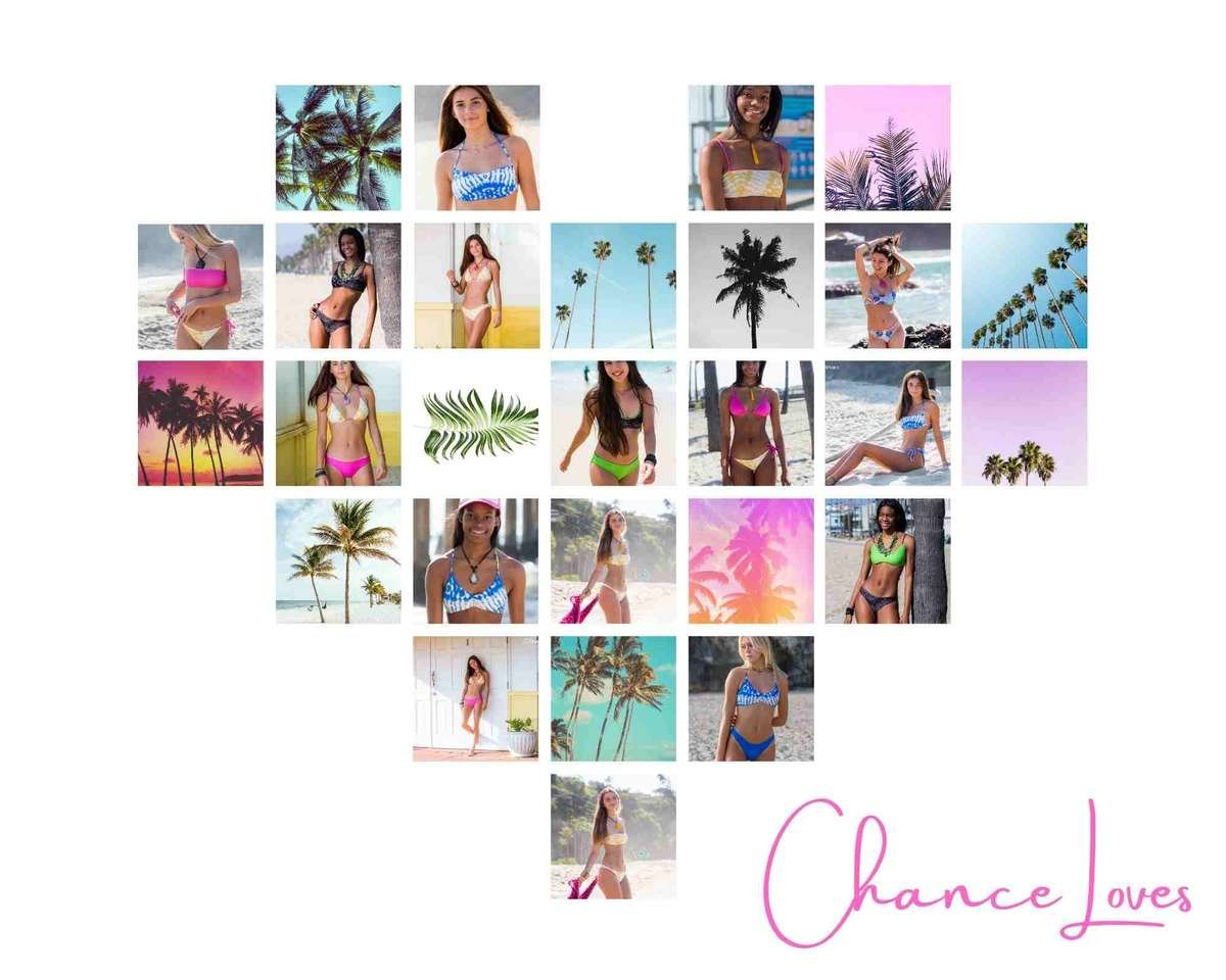 A collection of super-soft, on-trend bikinis, one-pieces, separates, padded tops, as well as full- and cheeky bottoms, Chance Loves offers something flattering for everyone, with comfortable, age-appropriate cuts and beautiful designs.