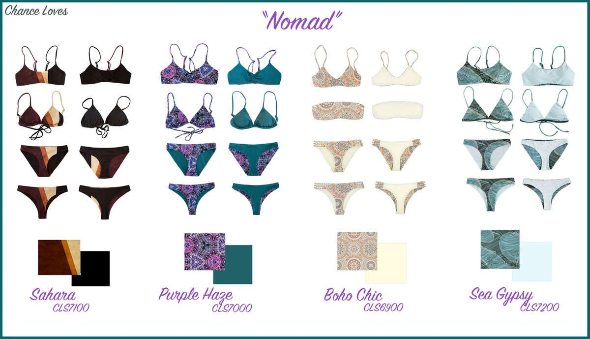 New Chance-loves swimsuits sustainable fabrics made from recycled plastics