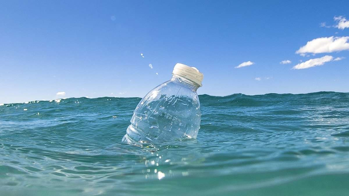 plastic bottles in ocean recycling for Chance-loves-swimwear fabric