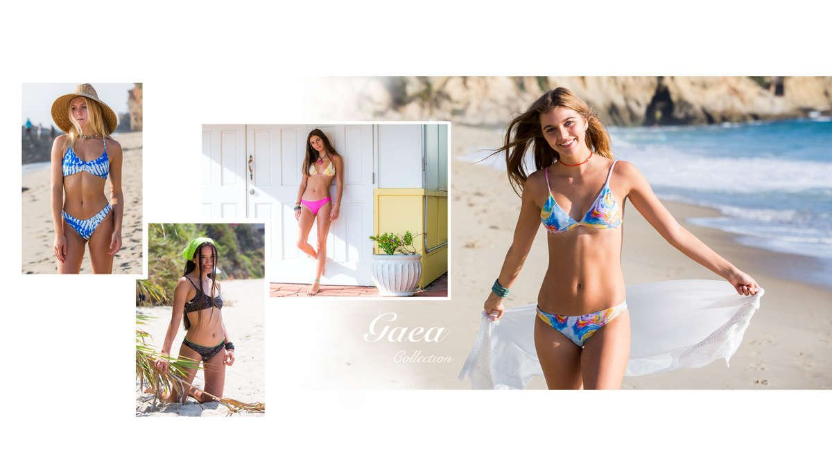 Colorful Swimwear Patterns and Prints designed by Chance Loves Swimwear for Teen Girls